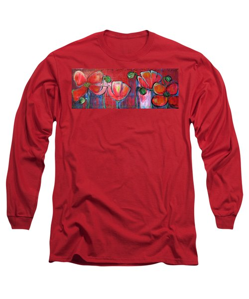 Did You Say Sanctuary Long Sleeve T-Shirt