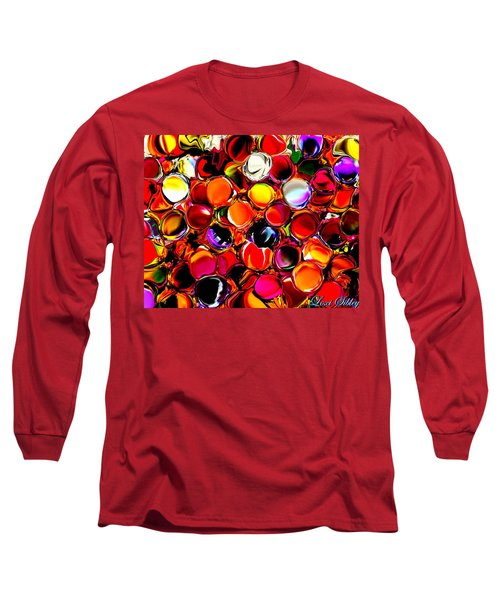 Digital2012b Long Sleeve T-Shirt by Loxi Sibley