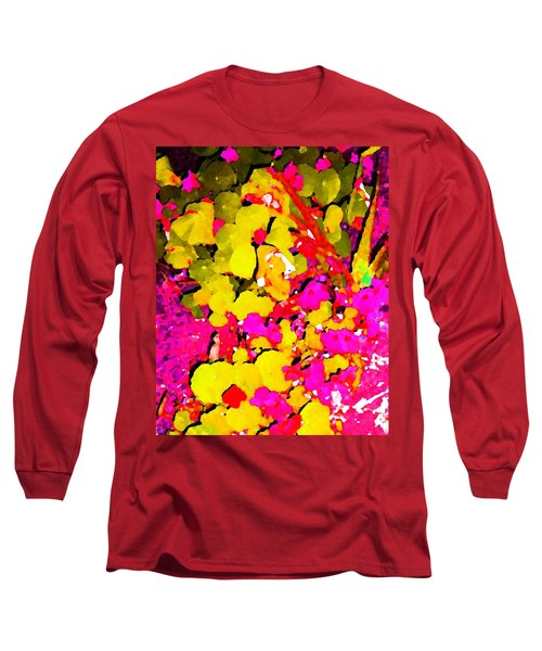 Long Sleeve T-Shirt featuring the digital art Discovering Joy by Winsome Gunning