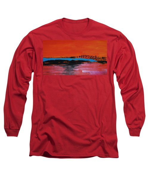 Distant City Long Sleeve T-Shirt by Haleh Mahbod