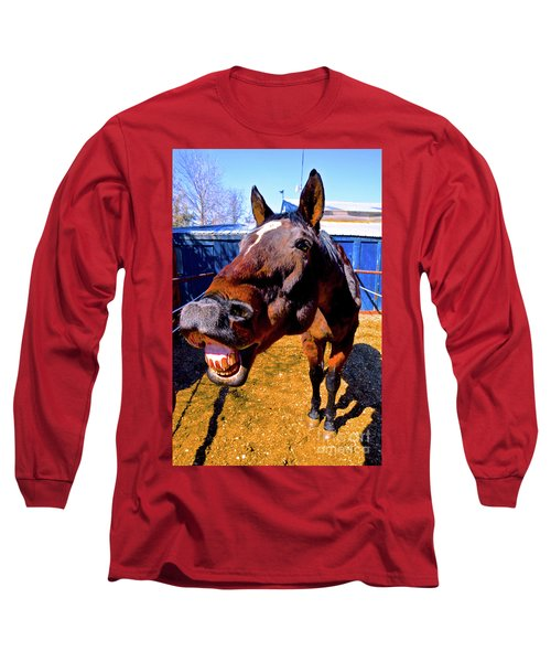 Do You Have A Treat For Me? Long Sleeve T-Shirt