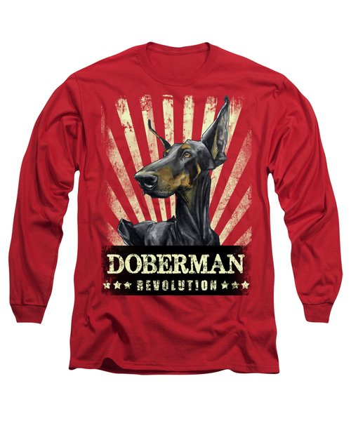 Doberman Revolution Long Sleeve T-Shirt