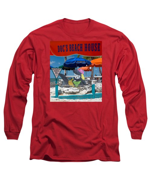 Doc's Beach House On Bonita Beach Long Sleeve T-Shirt