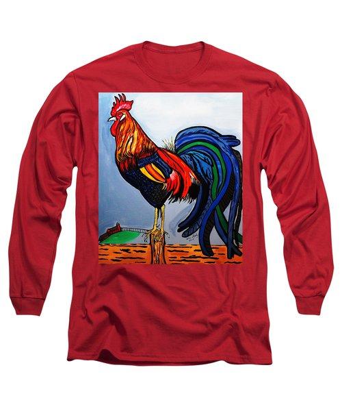 Doodle  Dum  Rooster Long Sleeve T-Shirt