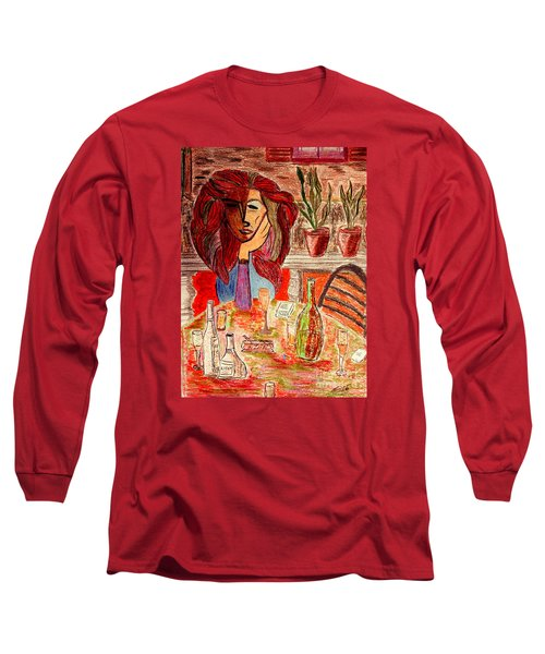 Dorothys Birthday Party Long Sleeve T-Shirt by Bill OConnor