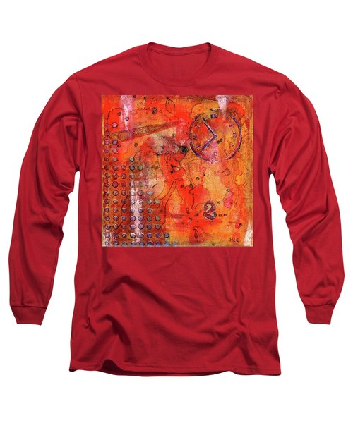Dot Of Time Long Sleeve T-Shirt