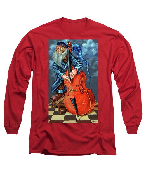 Double Bass And Bench Long Sleeve T-Shirt