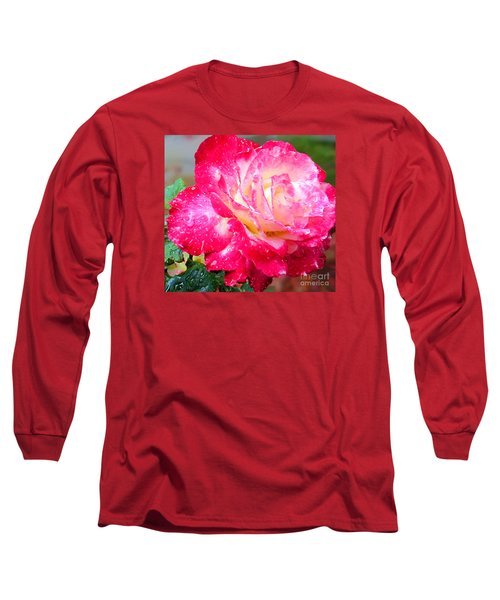 Long Sleeve T-Shirt featuring the photograph Double Delight by Patricia Griffin Brett