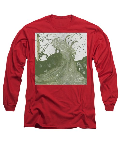 Double Up Wave Long Sleeve T-Shirt by Talisa Hartley