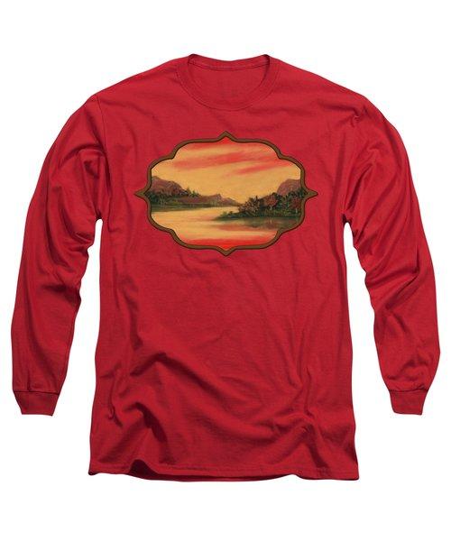 Dragon Sunset Long Sleeve T-Shirt