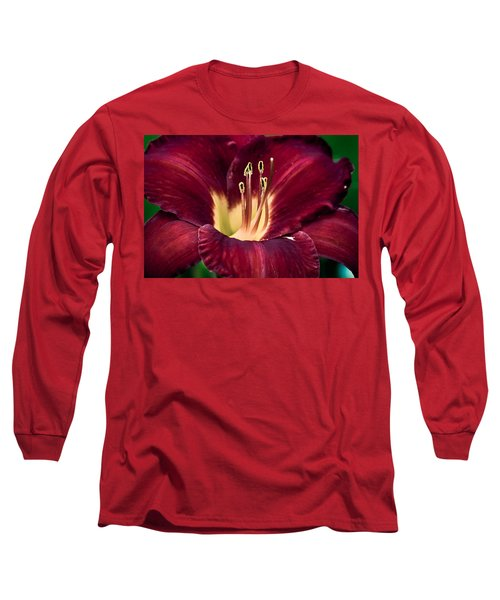 Dramatic Lily Long Sleeve T-Shirt