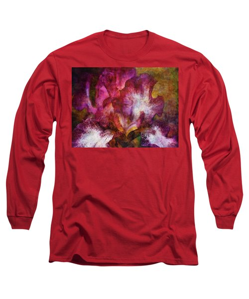 Dramatic White And Purple 0273 Idp_2 Long Sleeve T-Shirt
