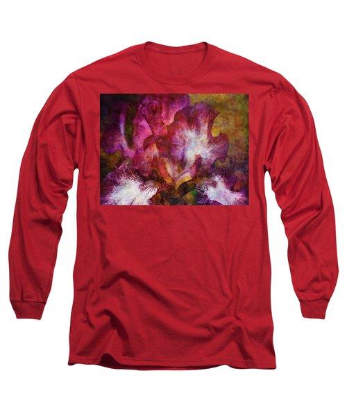 Dramatic White And Purple 0273 Idp_2 Long Sleeve T-Shirt