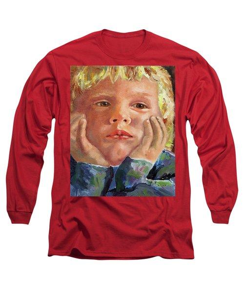 Dreamer Long Sleeve T-Shirt by Janet Garcia