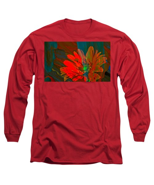 Long Sleeve T-Shirt featuring the photograph Dreaming Of Flowers by Jeff Swan