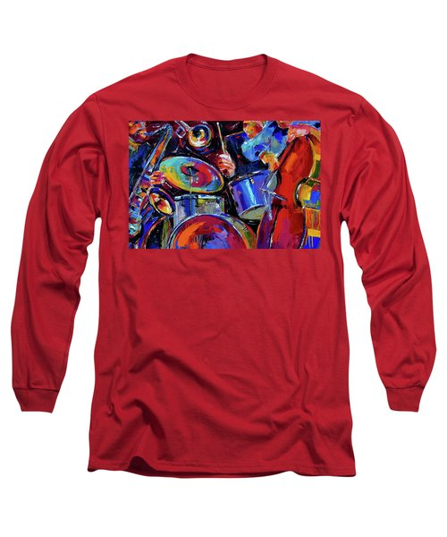 Drums And Friends Long Sleeve T-Shirt