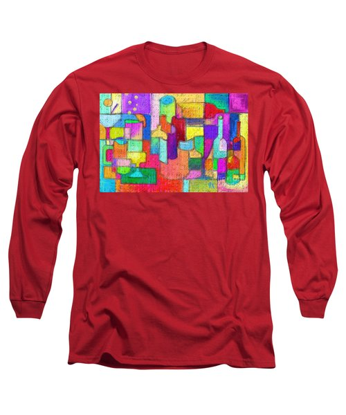 Drunk Aka Too Many Drinks Long Sleeve T-Shirt