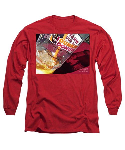 Dunkin Ice Coffee 29 Long Sleeve T-Shirt
