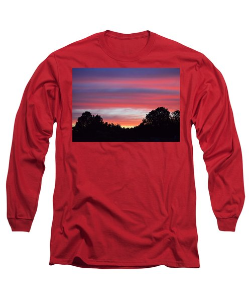 Early Morning Color Long Sleeve T-Shirt by Kathy Eickenberg