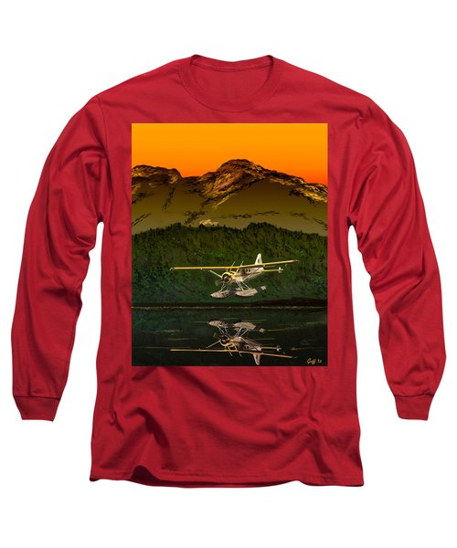 Early Morning Glass Long Sleeve T-Shirt by J Griff Griffin