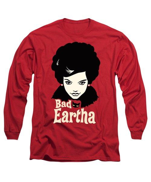 Eartha Kitt - That Bad Eartha Retro Poster Long Sleeve T-Shirt