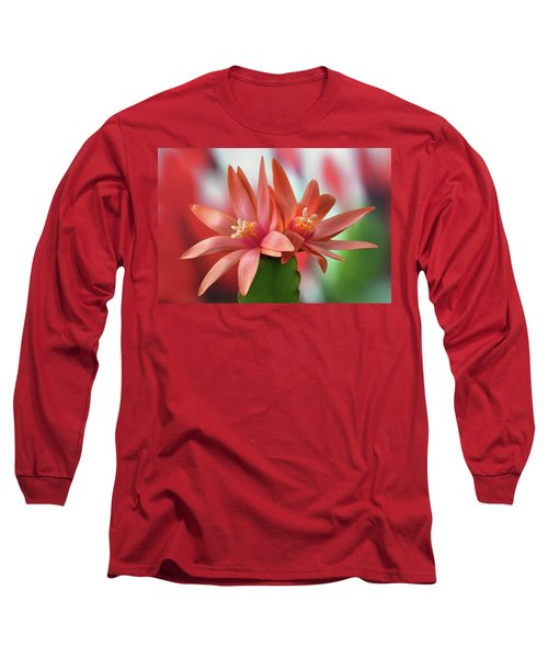 Easter Cactus Long Sleeve T-Shirt