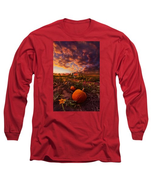 Long Sleeve T-Shirt featuring the photograph Echos You Can See by Phil Koch