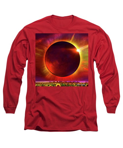 Eclipse Of The Sunflower Long Sleeve T-Shirt