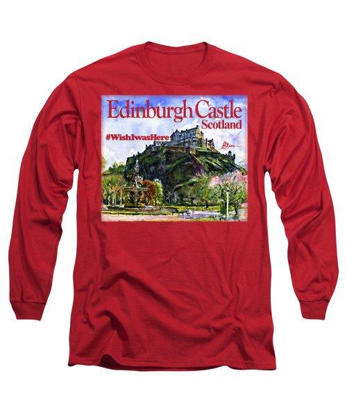 Edinburgh Castle Long Sleeve T-Shirt