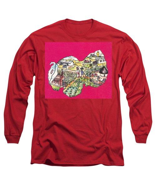 Education Et Citoyennete Au Rwanda Long Sleeve T-Shirt