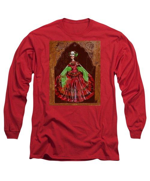 El Dia De Los Muertos Long Sleeve T-Shirt