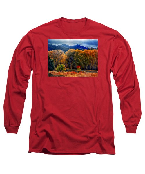 Long Sleeve T-Shirt featuring the photograph El Valle November Pastures by Anastasia Savage Ealy