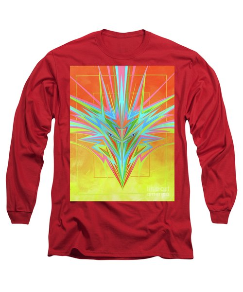 Electric Personality  Long Sleeve T-Shirt by Alan Johnson