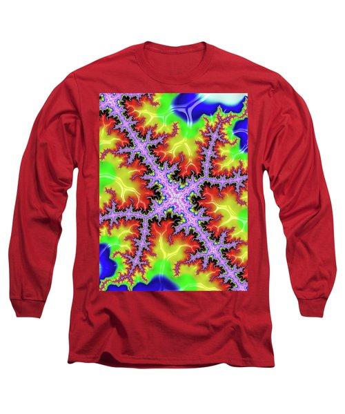 Electric Long Sleeve T-Shirt by Rajiv Chopra