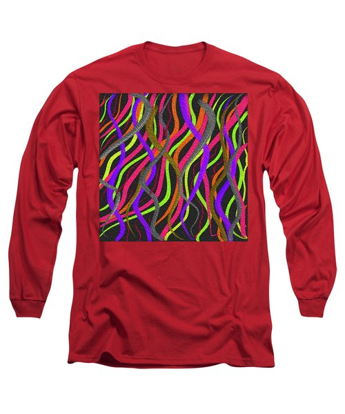 Electric Squiggles Long Sleeve T-Shirt