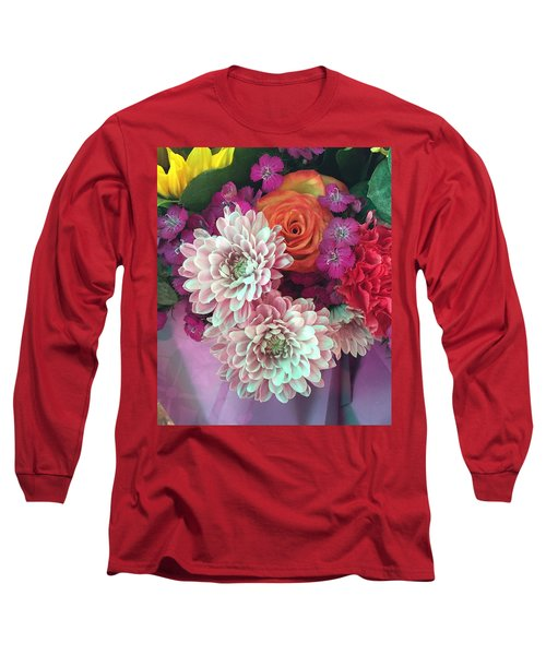 Long Sleeve T-Shirt featuring the photograph Elegant And Romantic by Peggy Stokes