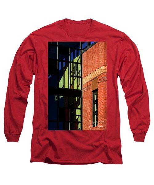 Element Of Reflection Long Sleeve T-Shirt by Vicki Pelham