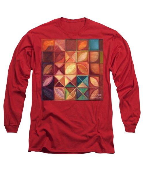 Elevating The Spirit - Finding Heart Long Sleeve T-Shirt by Kerryn Madsen-Pietsch
