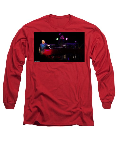 Elton - Enjoying The Show Long Sleeve T-Shirt