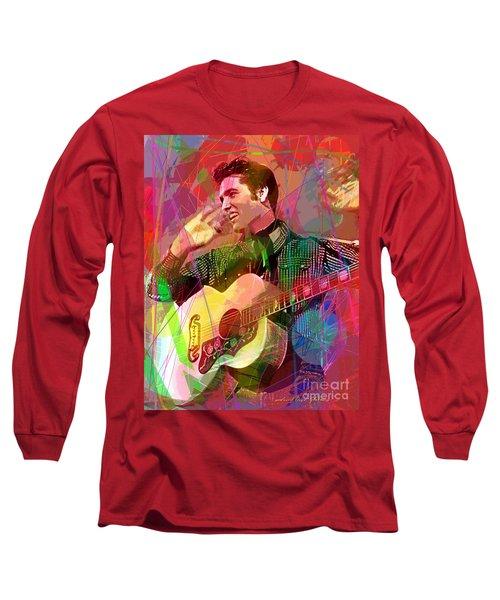Elvis Rockabilly  Long Sleeve T-Shirt