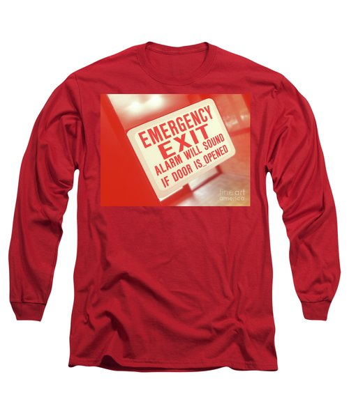 Emergency Long Sleeve T-Shirt