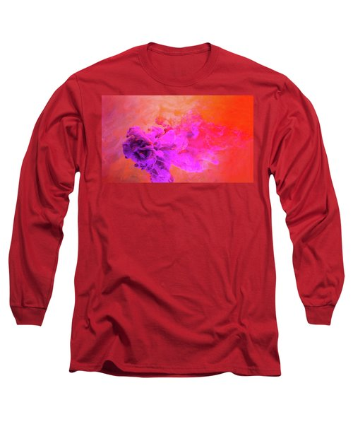 Emotional Fusion  - Abstract Art Photography Long Sleeve T-Shirt by Modern Art Prints