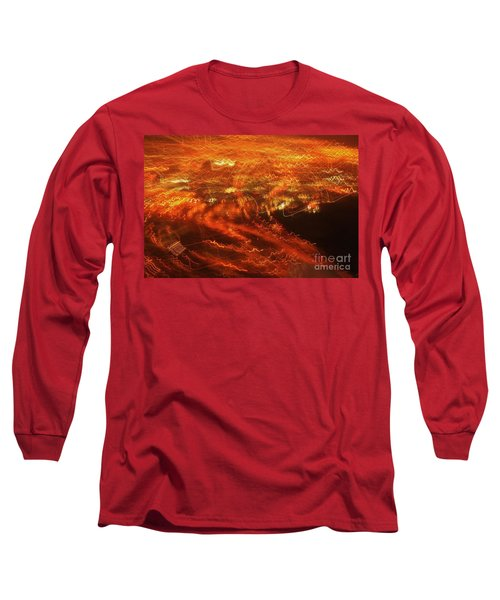 Emp Electromagnetic Pulse Long Sleeve T-Shirt by Craig Wood