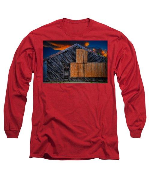 Empty Barn Long Sleeve T-Shirt