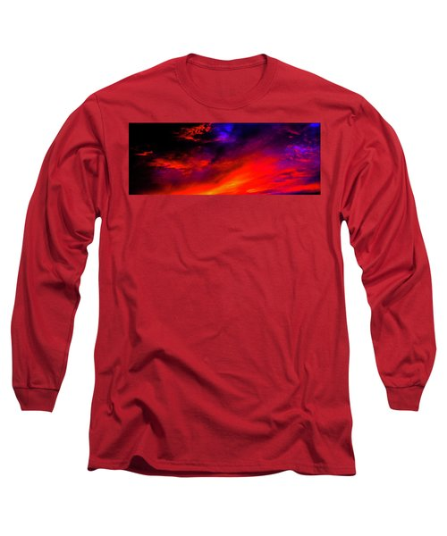 End Of Day Long Sleeve T-Shirt by Michael Nowotny