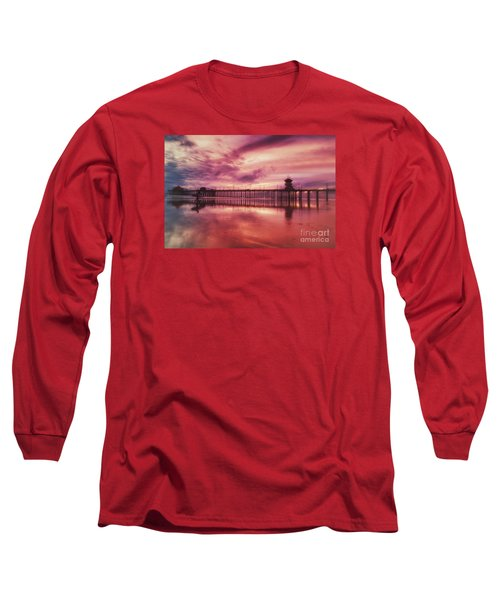 End Of Days At The Pier Long Sleeve T-Shirt