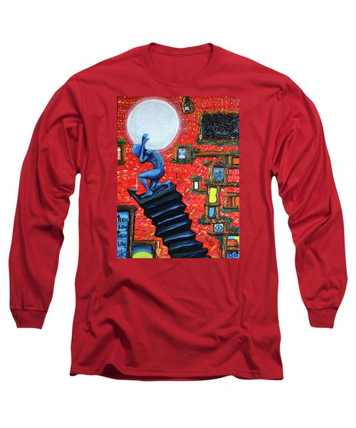Energy Flow, The Active Space And The Effects Of The Rising Moon Long Sleeve T-Shirt
