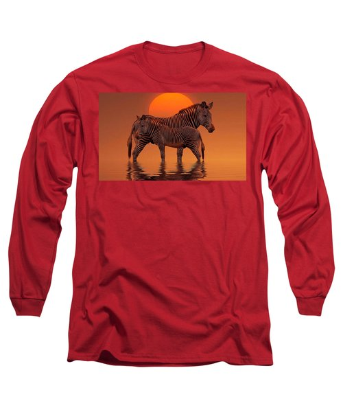 Enjoy Life Long Sleeve T-Shirt by Gabriella Weninger - David