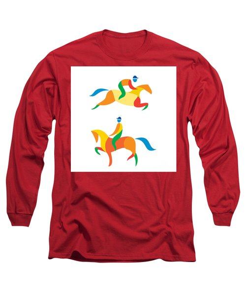 Equestrian Icon Long Sleeve T-Shirt