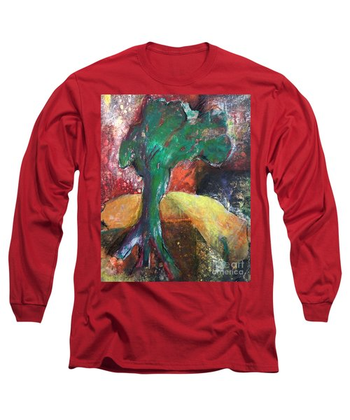 Escaped The Blaze Long Sleeve T-Shirt by Elizabeth Fontaine-Barr